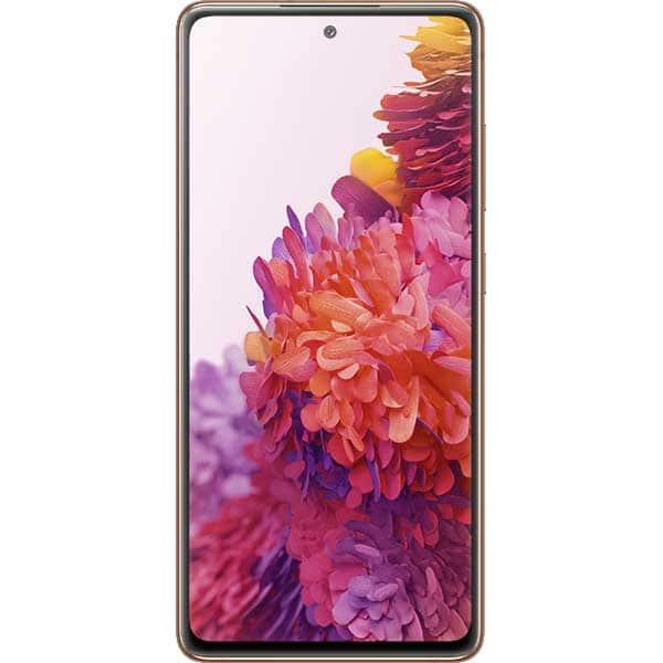 Telefon SAMSUNG Galaxy S20 Fan Edition 5G, 128GB, 6GB RAM, Dual SIM, Cloud Orange