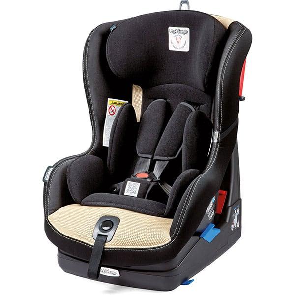 Scaun auto PEG PEREGO Viaggio Switchable, 5 puncte, 0 - 18 kg, crem - negru