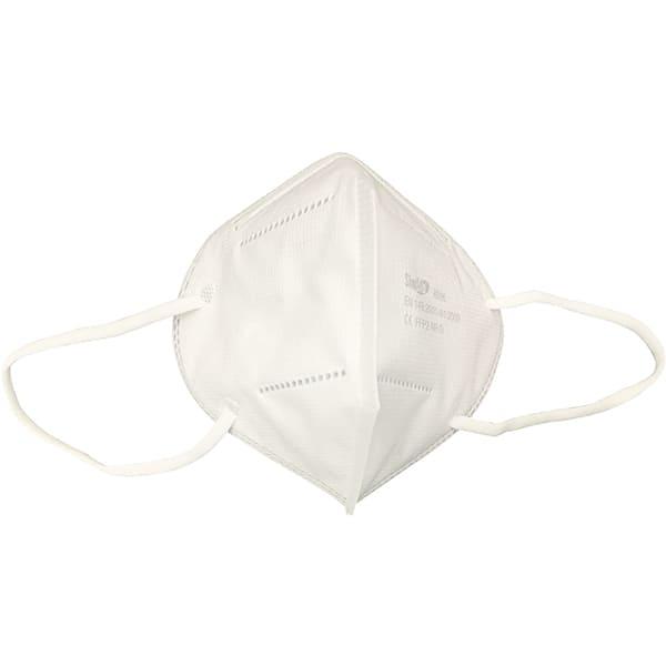 Set masti de protectie sanitara de unica folosinta SIMBIO SBH4813, KN95, FFP2, 4 straturi, 5 bucati, alb