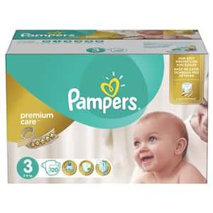 Scutece PAMPERS Premium Care Mega Box nr 3, Unisex, 5 - 9 kg, 120 buc