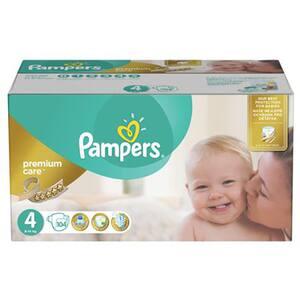 Scutece PAMPERS Premium Care Mega Box nr 4, Unisex, 8 - 14 kg, 104 buc