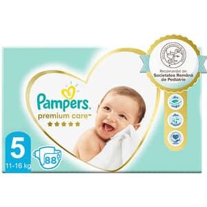 Scutece PAMPERS Premium Care Mega Box nr 5, Unisex, 11-16 kg, 88 buc