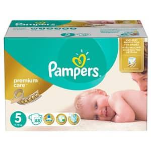 Scutece PAMPERS Premium Care Mega Box nr 5, Unisex, 11 - 18 kg, 88 buc