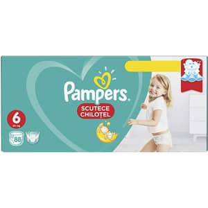 Scutece chilotei PAMPERS Pants Mega Box nr 6, Unisex, 15+ kg, 88 buc