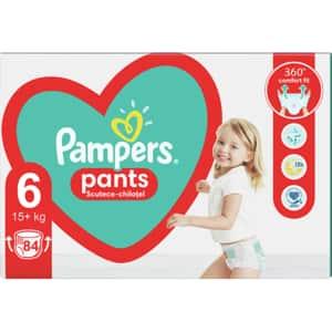 Scutece chilotei PAMPERS Pants Mega Box nr 6, Unisex, 15+kg, 84 buc