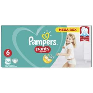 Scutece chilotei PAMPERS Pants Mega Box nr 6, Unisex, 15+ kg, 88 buc