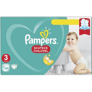 Scutece chilotei PAMPERS Pants Mega Box nr 3, Unisex, 6-11 kg, 120 buc