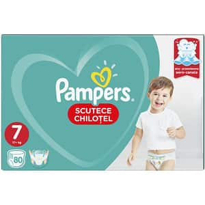 Scutece chilotei PAMPERS Pants Mega Box nr 7, Unisex, 17+ kg, 80 buc