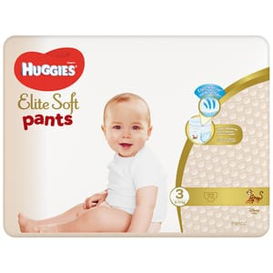 Scutece chilotei HUGGIES Elite Soft Pants nr 3, Unisex, 6-11 kg, 72 buc