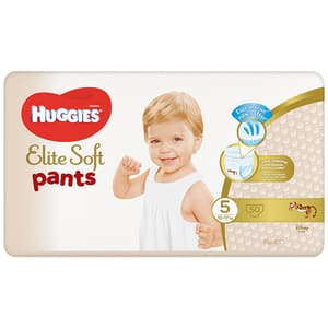 Scutece chilotei HUGGIES Elite Soft Pants nr 5, Unisex, 12-17 kg, 50 buc