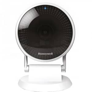 Camera IP Wireless HONEYWELL LYRIC C2, Full HD 1080p, IR, Night Vision, alb