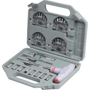 Set surubelnita si top box MTX, cutie de plastic, 36 piese