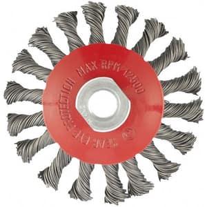 Perie MTX Matrix 746099, pentru curatarea suprafetelor de metal, argintiu