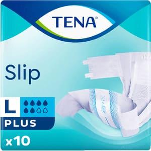 Scutece pentru adulti TENA Slip Plus, L, 10 buc