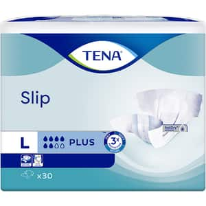 Scutece pentru adulti TENA Slip Plus, L, 30 buc