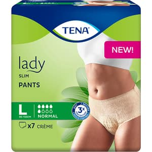 Scutece tip chilot TENA Lady Slim Pants, L, 7 buc