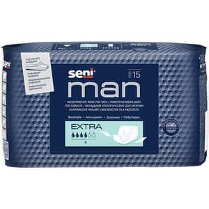 Absorbante incontinenta SENI Man, Extra, 15 buc