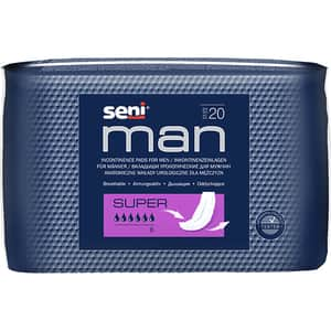 Absorbante incontinenta SENI Man, Super, 20 buc