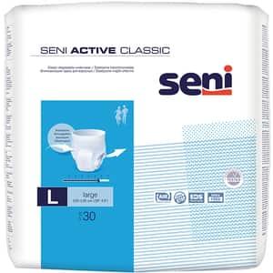 Scutece tip chilot SENI Active Classic, L, 30 buc