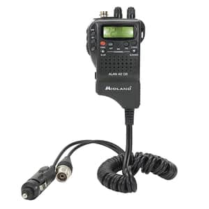 Statie radio CB portabila MIDLAND Alan 42 DS cu Squelch Automat Digital