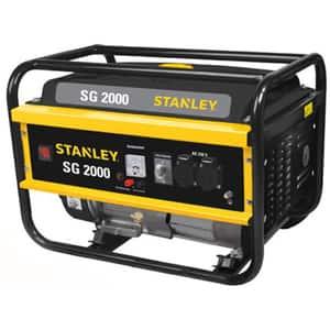 Generator electric STANLEY SG2000P, 2200W, 4 timpi, benzina, autonomie 6.3h