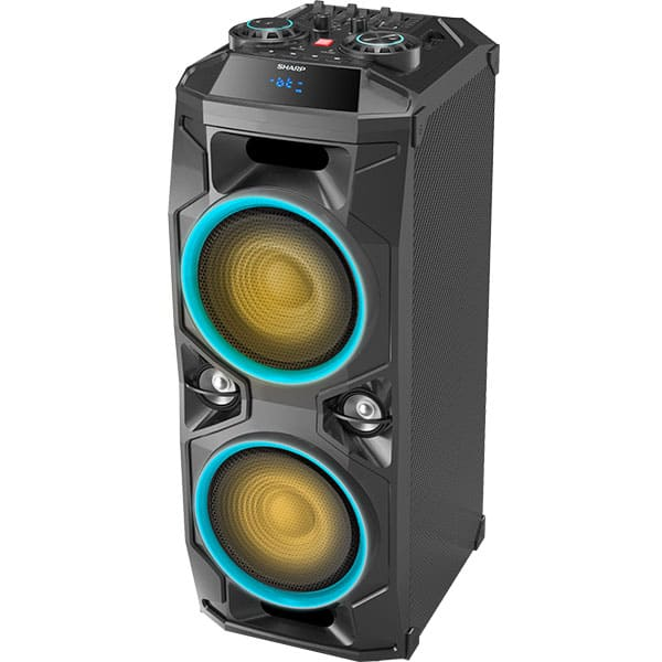 Boxa portabila SHARP PS-940, 180W RMS, Bluetooth, negru