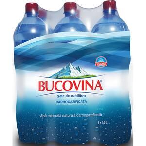 Apa minerala BUCOVINA bax 1.50L x 6 sticle