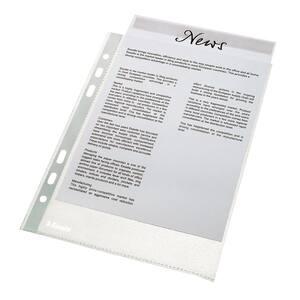Folii protectie documente ESSELTE Economy, A4, 35 microni, 100 bucati