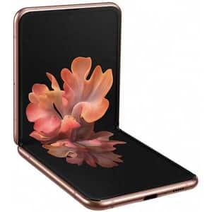 Telefon SAMSUNG Galaxy Z Flip 5G, 256GB, 8GB RAM, Dual SIM, Mystic Bronze