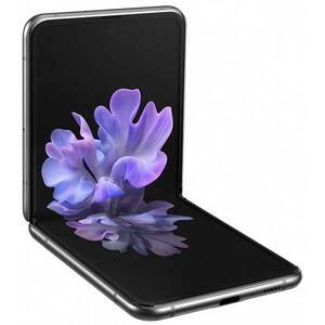 Telefon SAMSUNG Galaxy Z Flip 5G, 256GB, 8GB RAM, Dual SIM, Mystic Gray