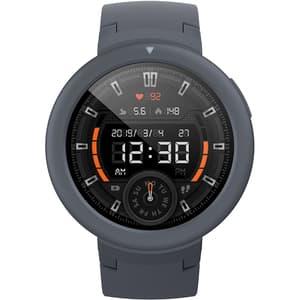 Smartwatch XIAOMI Amazfit Verge Lite, Android/iOS, silicon, gri inchis