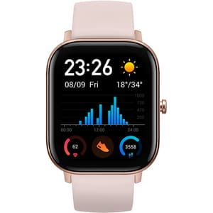 Smartwatch XIAOMI AmazFit GTS, Android/iOS, silicon, Rose Pink