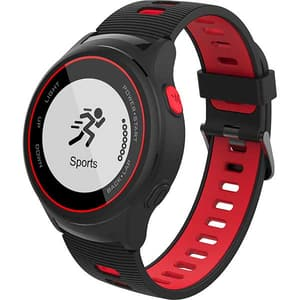 Smartwatch MYRIA MY9518RD, Android/iOS, silicon, rosu