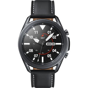 Smartwatch SAMSUNG Galaxy Watch3 45mm, Wi-Fi, Android/iOS, Stainless Steel, Black