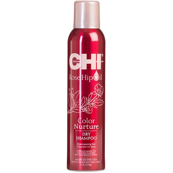 Sampon uscat CHI Rose Hip Oil, 200ml