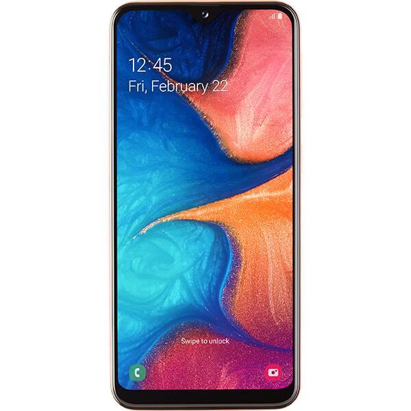 SAMSUNG Galaxy A20e, 32GB, 3GB RAM, Dual SIM, Orange Coral