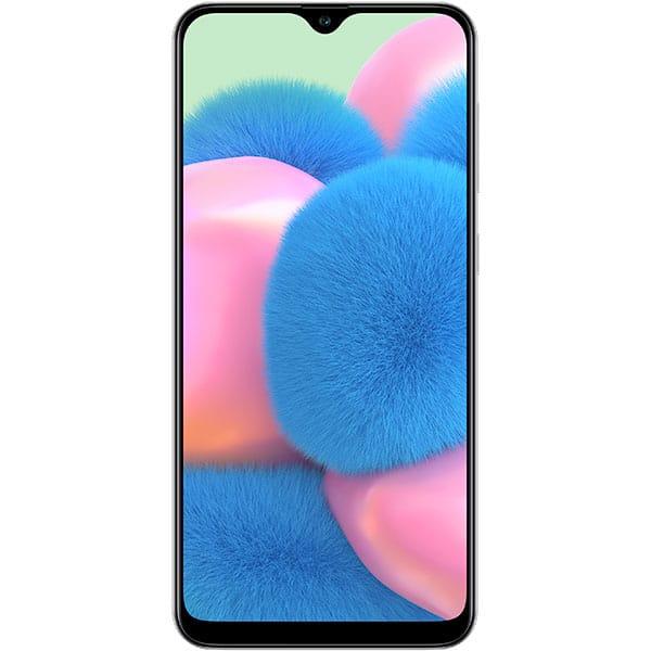 SAMSUNG Galaxy A30s, 64GB , 4GB RAM, Dual SIM, Prism Crush White