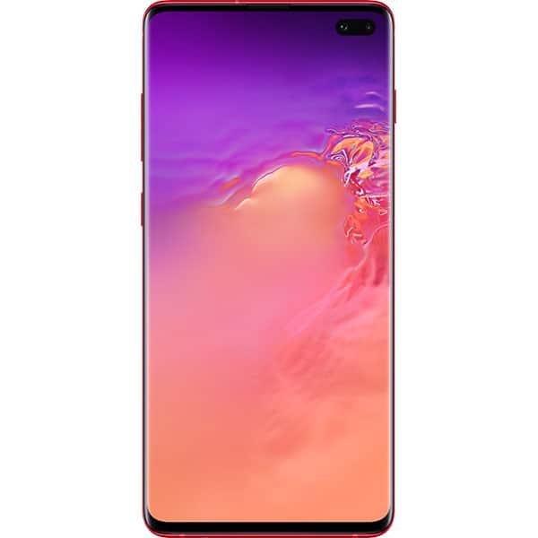 SAMSUNG Galaxy S10 Plus, 128GB, 8GB RAM, Dual SIM, Red
