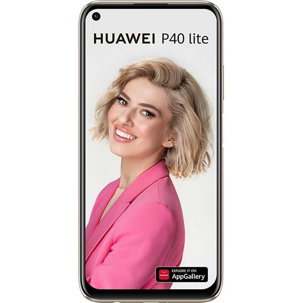 Telefon HUAWEI P40 Lite, 128GB, 6GB RAM, Dual SIM, Sakura Pink