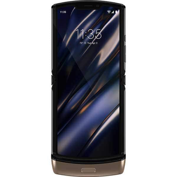 Telefon MOTOROLA Razr, 128GB, 6GB RAM, eSIM, Blush Gold
