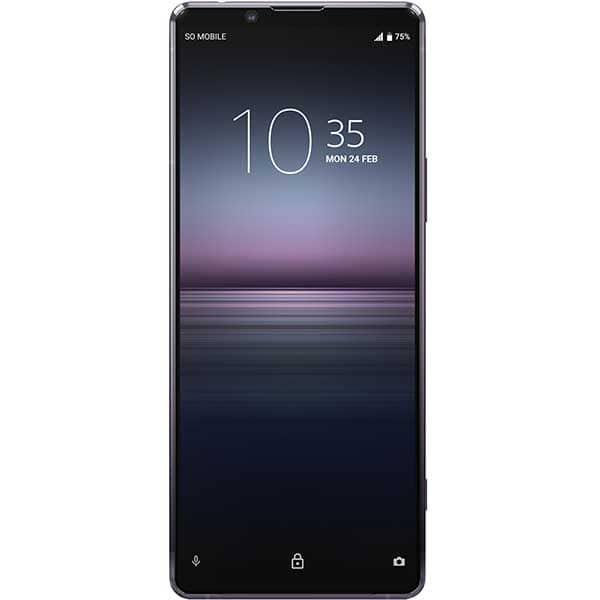 Telefon SONY Xperia 1 II, 256GB, 8GB RAM, Single SIM, 5G, Purple
