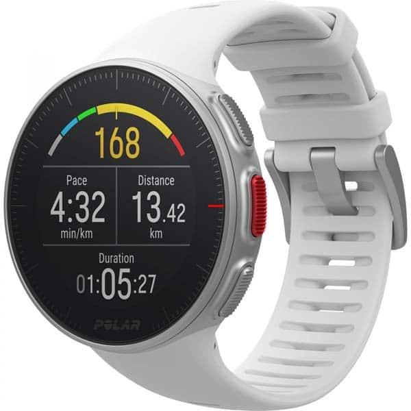 Smartwatch POLAR Vantage V, Android/iOS, silicon, alb