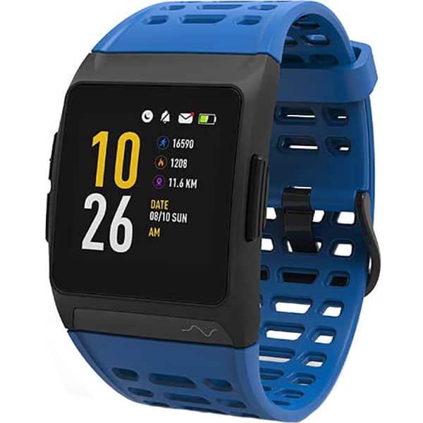 Smartwatch MYRIA MY9519BL, Android/iOS, silicon, albastru