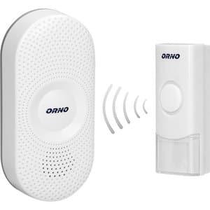 Sonerie wireless ORNO OR-DB-QX-155, 300 m, IP44, alb