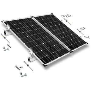 Kit montaj acoperis tabla PNI KMSOL02 pentru 2 panouri fotovoltaice