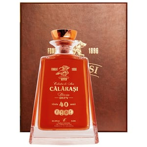 Brandy Divin Calarasi 40 ani Colectia de Aur de Elita, 0.65L