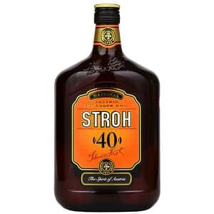 Rom Stroh 40% alcool, 0.7L