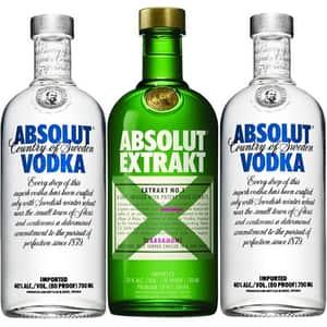 Pachet cadou ABSOLUT Extrakt, 0.7L