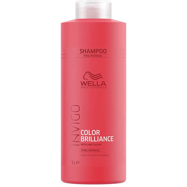 Sampon WELLA Invigo Color Brilliance For Fine Hair, 1000ml