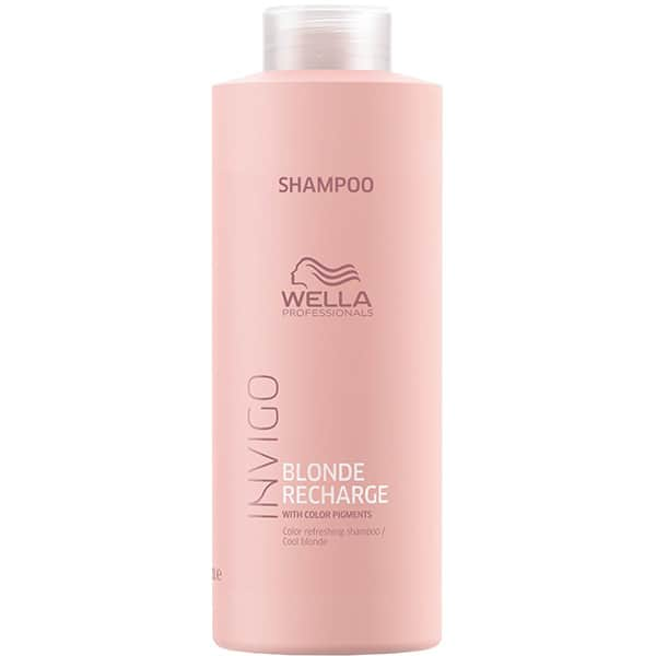 Sampon WELLA Invigo Blonde Recharge Cool Blonde, 1000ml